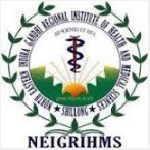 neigrihms recruitment Dental officer Statistical officer medical Physicist
