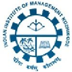 IIM Kozhikode recruitment 2018 notification