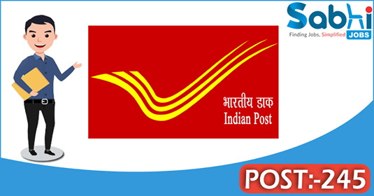 AP Postal Circle recruitment 245 Postman, Mail Guard