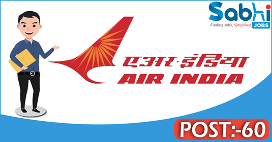 Air India recruitment 60 Utility Hands