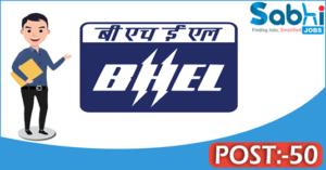 BHEL recruitment 2018 notification 50 Engineer Trainee