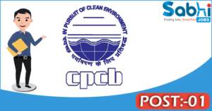 CPCB recruitment 2018 notification 01 Assistant