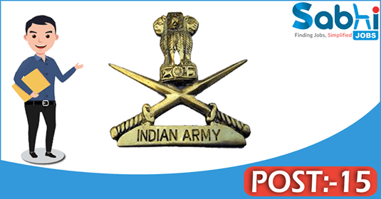Indian Army recruitment 15 Lower Division Clerk, Fireman
