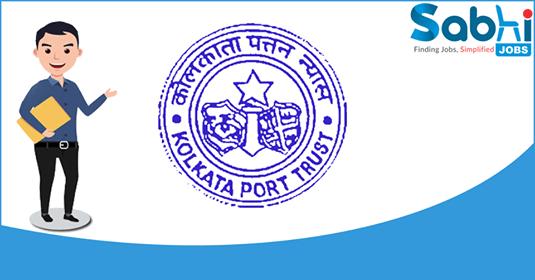Kolkata Port Trust recruitment 01 Stenographers