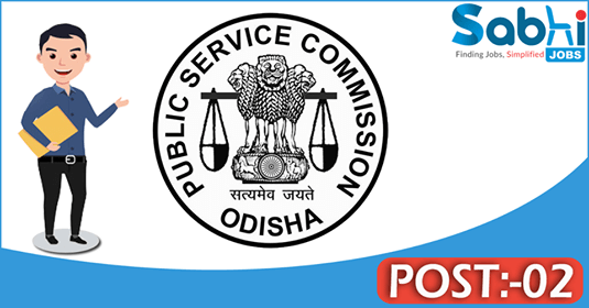 OPSC recruitment 02 Scientific Officer