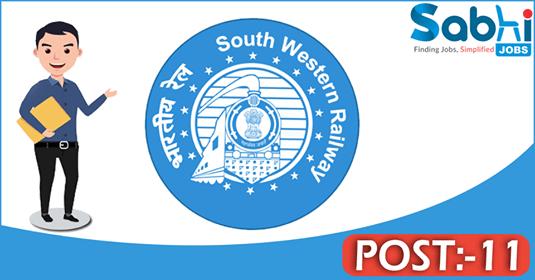South Western Railway recruitment 11 Group C