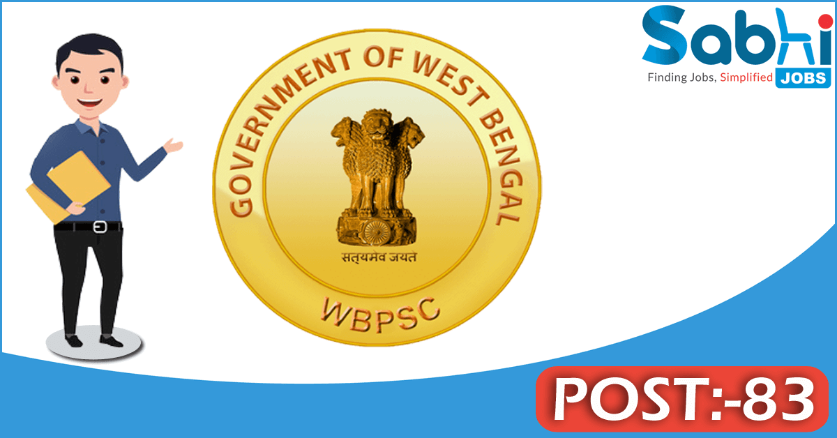 WBPSC recruitment 83 Assistant Director of Agriculture