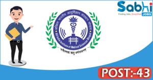 AIIMS Bhopal recruitment 2018 notification Apply for 43 Tutor/ Demonstrator