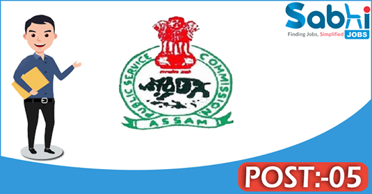 APSC recruitment 05 Junior Information and Public Relation Officer