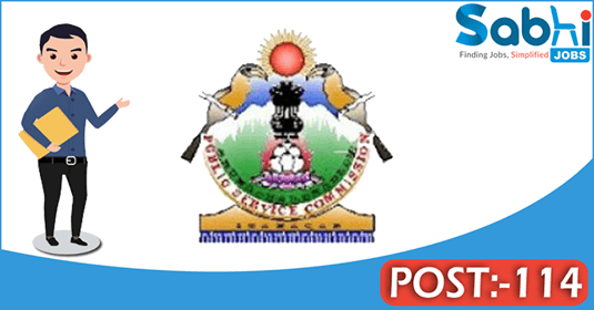 Arunachal Pradesh PSC recruitment 114 Junior Engineer