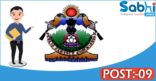 Arunachal Pradesh PSC recruitment 09 UGC cum Accountant