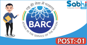 BARC recruitment 2018 notification Apply application for 01 Part-Time Consultant