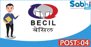 BECIL recruitment 2018 notification Apply for 04 Nurse