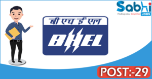 BHEL recruitment 2018 notification Apply for 29 SMO, GDMO