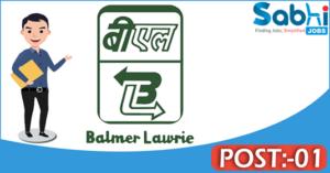 Balmer Lawrie recruitment 2018 notification 01 Junior Officer