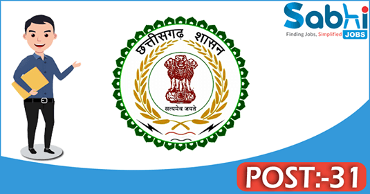 CGPSC recruitment 31 Scientific Officer