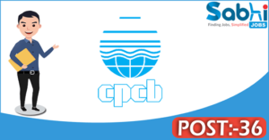 CPCB recruitment 2018 notification 36 Senior Research Fellow, Junior Research Fellow