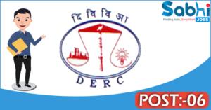 DERC recruitment 2018 notification 06 Legal Aid Advocate, Supervising Legal Aid Advocate