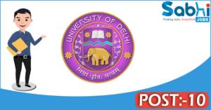Delhi University recruitment 2018 notification Apply for 10 Assistant, Junior Assistant