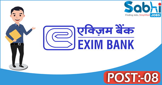 Exim Bank recruitment 08 Information Technology (IT) Officer, Legal Officer