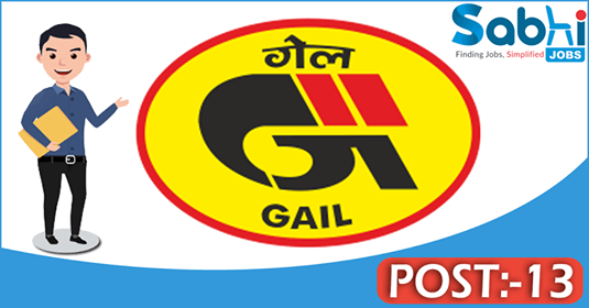 GAIL recruitment 13 Visiting Consultant Doctor, Shift Duty Medical Officer