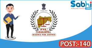 Government of Maharashtra recruitment 2018 notification 140 Scientific Assistant, Peon