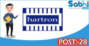 HARTRON recruitment 2018 notification 28 Programmer