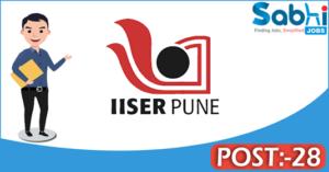IISER recruitment 2018 notification 28 Laboratory Technician, Librarian