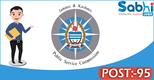 JKPSC recruitment 95 Consultant