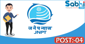JNPT recruitment 2018 notification Apply for 04 Superintendent, Accounts Officer