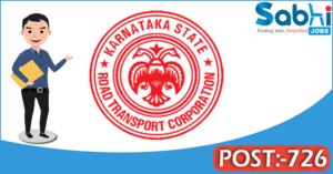 KSRTC recruitment 2018 notification Apply online for 726 Technical Assistant