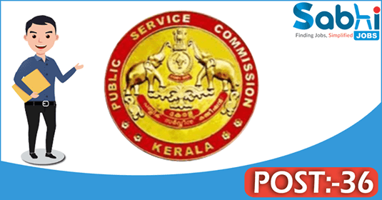 Kerala PSC recruitment 36 Laboratory Technician, Blood Bank Technician