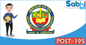 MCD recruitment 2018 notification 195 Ward Boy, Public Health Nurse