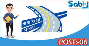 NHAI recruitment 2018 notification Apply for 06 Assistant Advisor