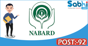 NABARD recruitment 2018 notification Apply online for 92 Assistant Manager