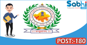 RSMSSB recruitment 2018 notification Apply online 180 Supervisor