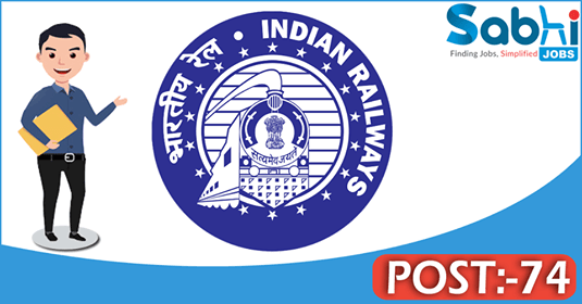 Southern Railway recruitment 74 Junior Clerk-cum-Typist
