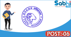 CSWRI recruitment 2018 notification Apply for 06 Young Professional