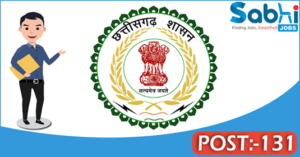 Government of Chhattisgarh recruitment 2018 notification 131 Staff Nurse, Lab Technician