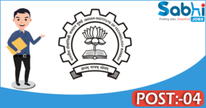 IIT Bombay recruitment 2018 notification Apply for 04 Technical Superintendent, Junior Engineer