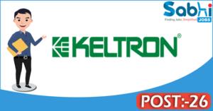 KELTRON recruitment 2018 notification 26 Deputy Manager, Technical Assistant