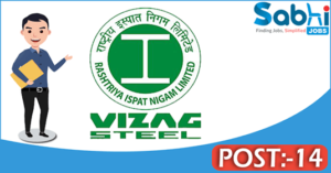 Vizag Steel recruitment 2018 notification 14 Management Trainees