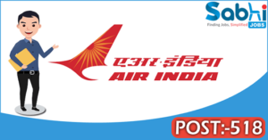 Air India recruitment 2018 notification 518 Handyman /Handywomen, Terminal Manager