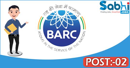 BARC recruitment 02 CSSD Technician
