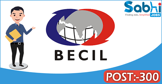 BECIL recruitment 300 Programme Coordinator