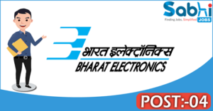 BEL recruitment 2018 notification Apply application for 04 Engineer