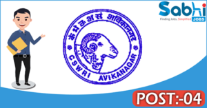 CSWRI recruitment 2018 notification 04 Young Professional, Senior Research Fellow
