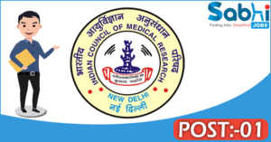 NIMR recruitment 2018 notification Apply application for 01 Assistant