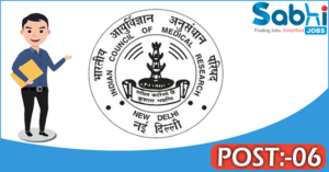 NIN recruitment 2018 notification Apply for 06 Project Assistant, Project Technician