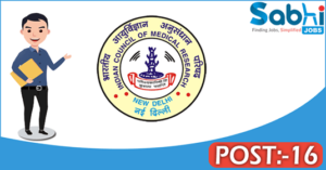 RMRC recruitment 2018 notification 16 Research Assistant, Field worker